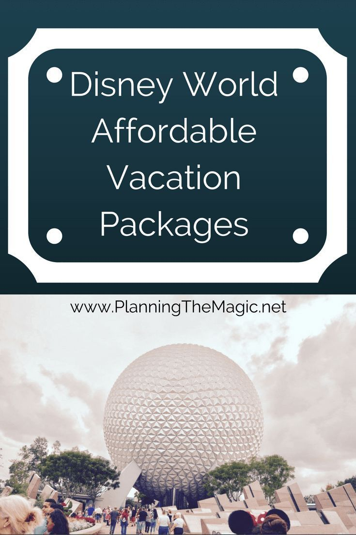 Disney World Affordable Packages 2017