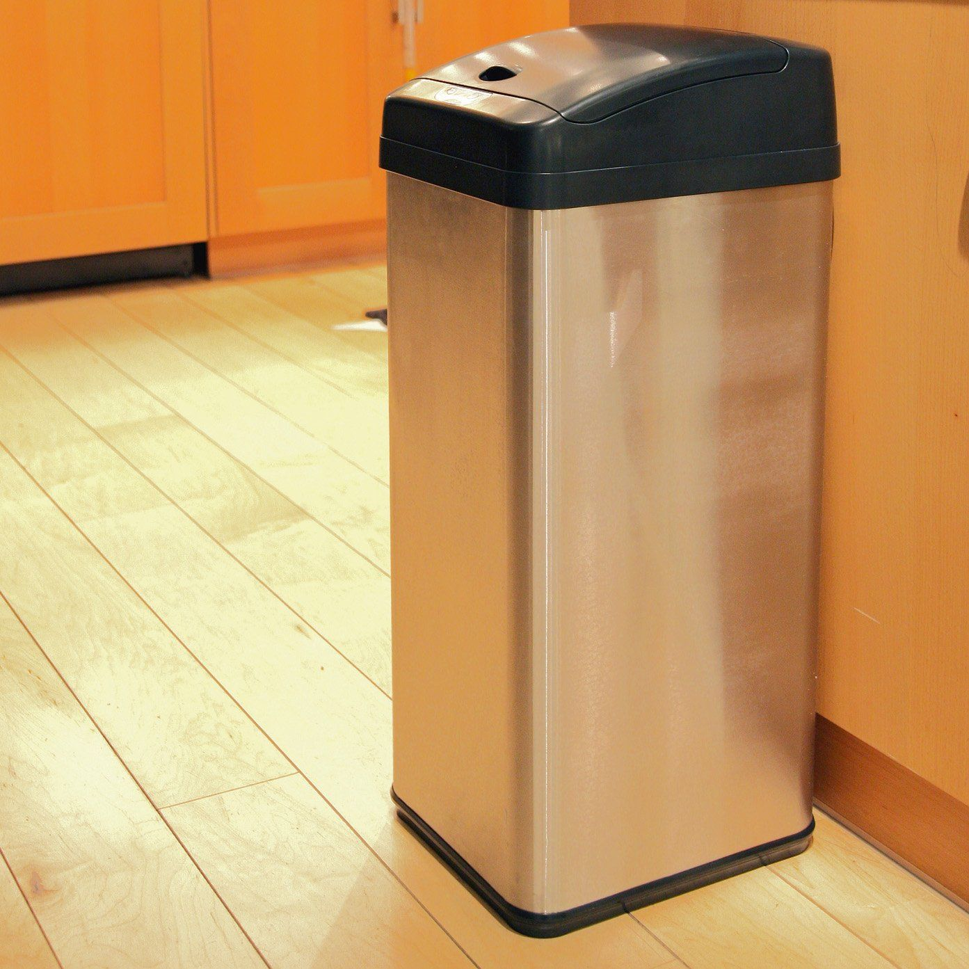 Itouchless It13mx Trashcan Mx Stainless Steel 13 Gal Trash Can Trash Can Kitchen Trash Cans Recycle Trash 13 gallon trash can dimensions