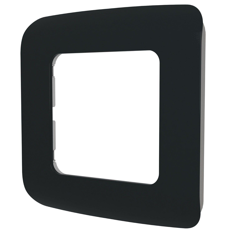 Plaque Simples Cosy Lexman Noir Noir N 0 Prise