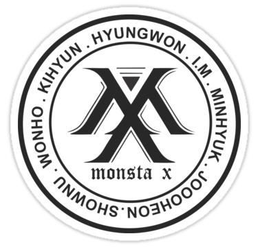 Resultado de imagen para monsta x kpop stickers
