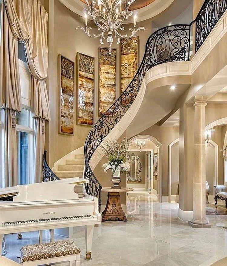 Elegant living room Extraordinary homes Pinterest Home, Luxury