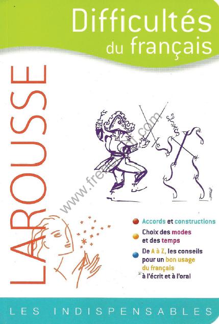 Telecharger Livre Difficultes Du Francais Larousse Pdf Gratuit Free Pdf Books French Books Books
