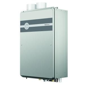 Rheem Ecosense Gpm Btu Ultra Low Nox Natural Gas High Efficiency Condensing Indoor Tankless Water Heater At The Home Depot Tablet