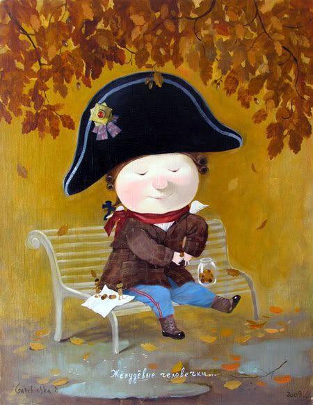 Acorn little men. by Gapchinska