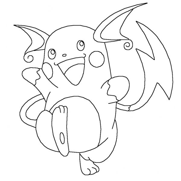 Raichu Pokemon Idee Per Disegnare Immagini Pokemon E Disegni