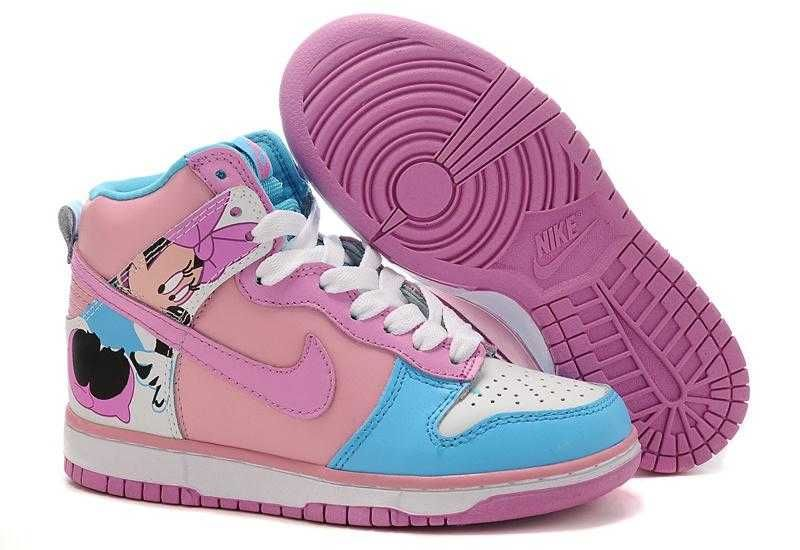 info for 19e25 f93a3 1767   Nike Dunk High Dam Rosa Rosa Vit Violet Turquoise SE174936ktGycMHpf