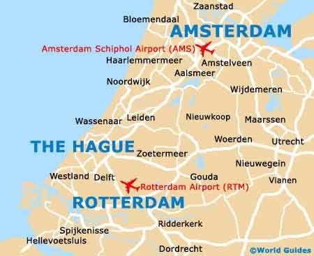 Small The Hague Map Viajes EUROPA Pinterest Amsterdam