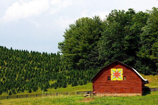 Follow The Nc Barn Quilt Trail Through The Mountains