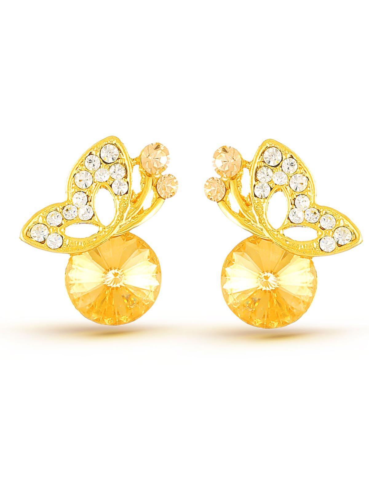 Alluring designer white stone with american diamonds bridal wear ...