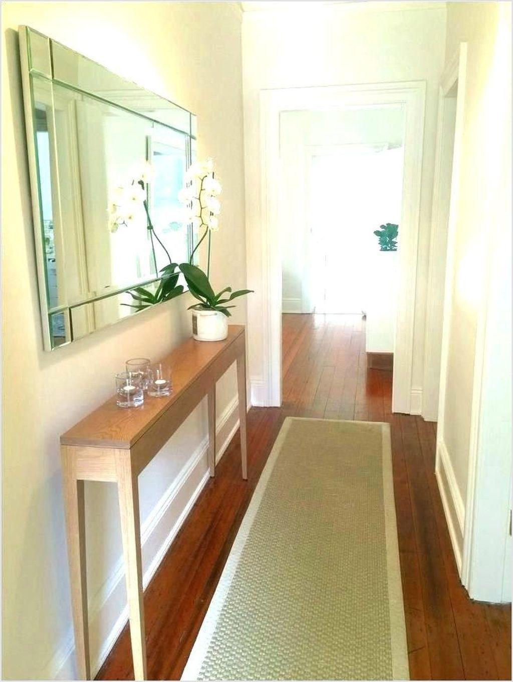 42 Stunning Modern Entryway Design Ideas Small Entryways Foyer Decorating Narrow Hallway Decorating