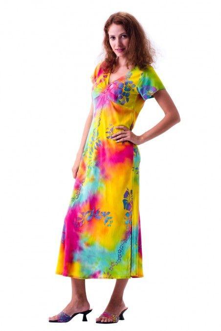 b8b6d274054c1 Comfortably Chic Loose Fitting Hawaiian Dress | Hawaiian Dresses ...