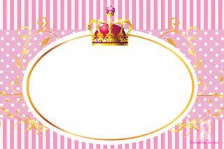 Coroa de Princesa (Rosa e Branco) | princesas | Princesa ...