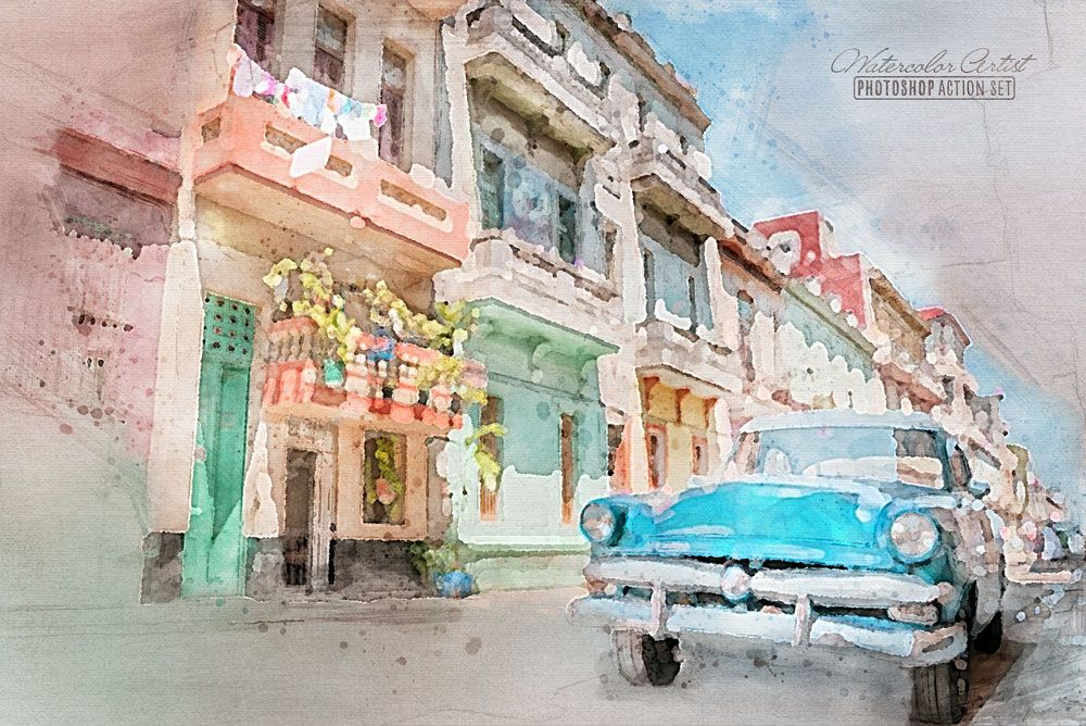 Transform Photos Into Watercolors With A Free Photoshop Action