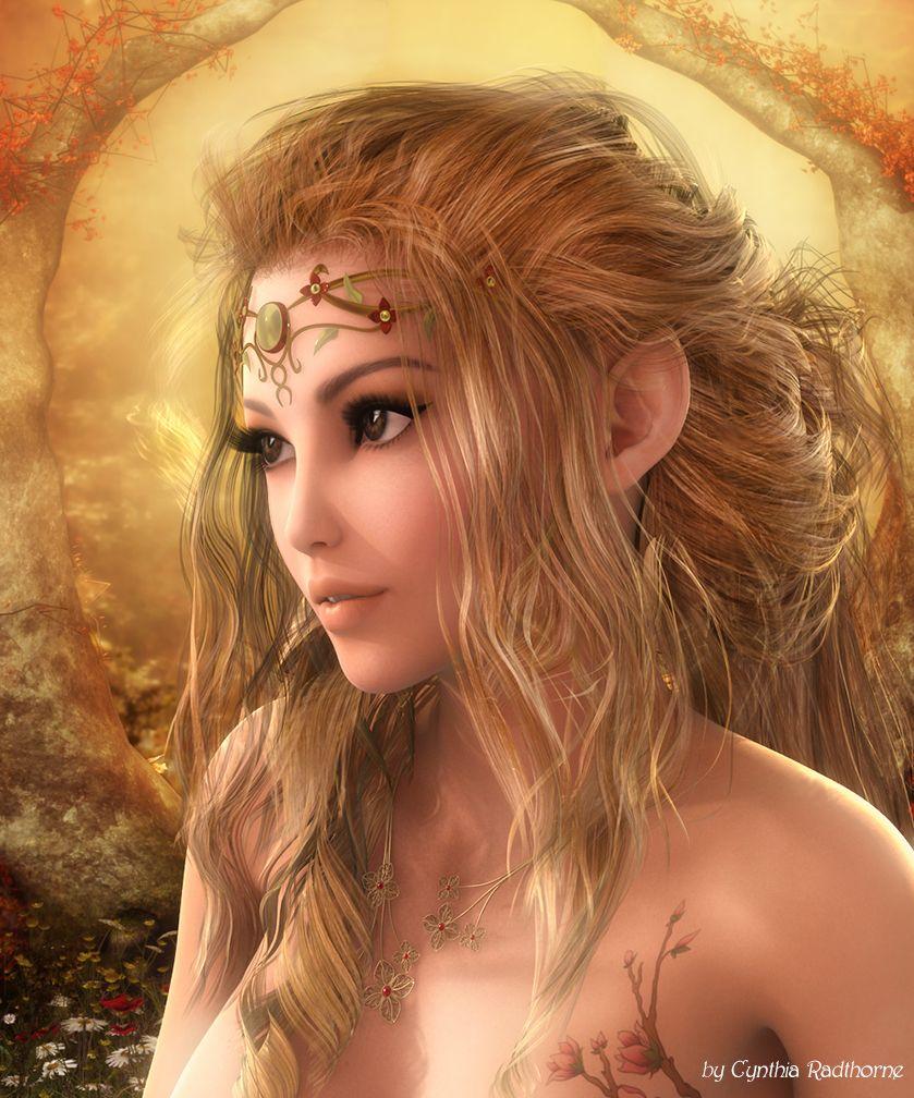 Elven Queen by Radthorne on DeviantArt