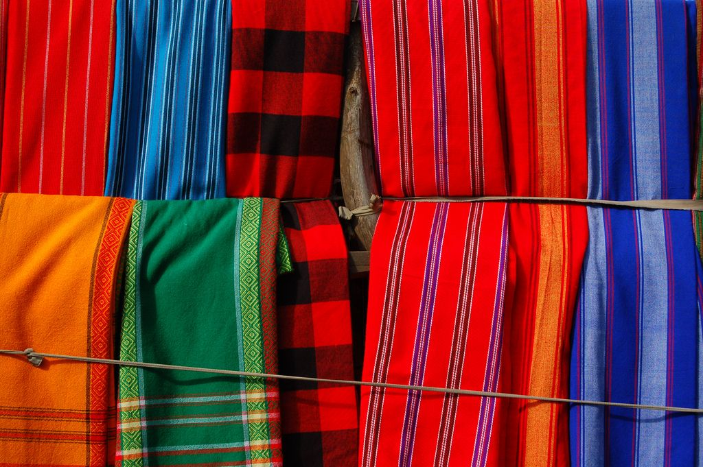 Image result for souvenirs arusha maasai blankets