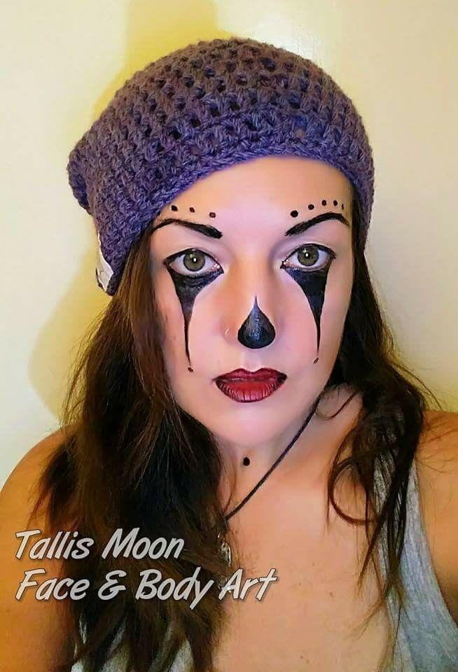 Pin by Julie Barnes on face painting Pinterest Face paintings - face painting halloween makeup ideas