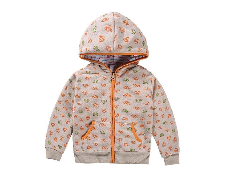 e4b73c48abf6 100% Cotton 1-5 yrs jacket for girls baby girl clothes Love printed ...