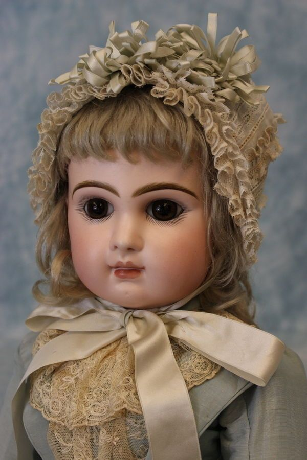 """24"""" 1885 Antique C/M French Bisque Size 11 Tete Jumeau Doll correct Adult Body!!"""