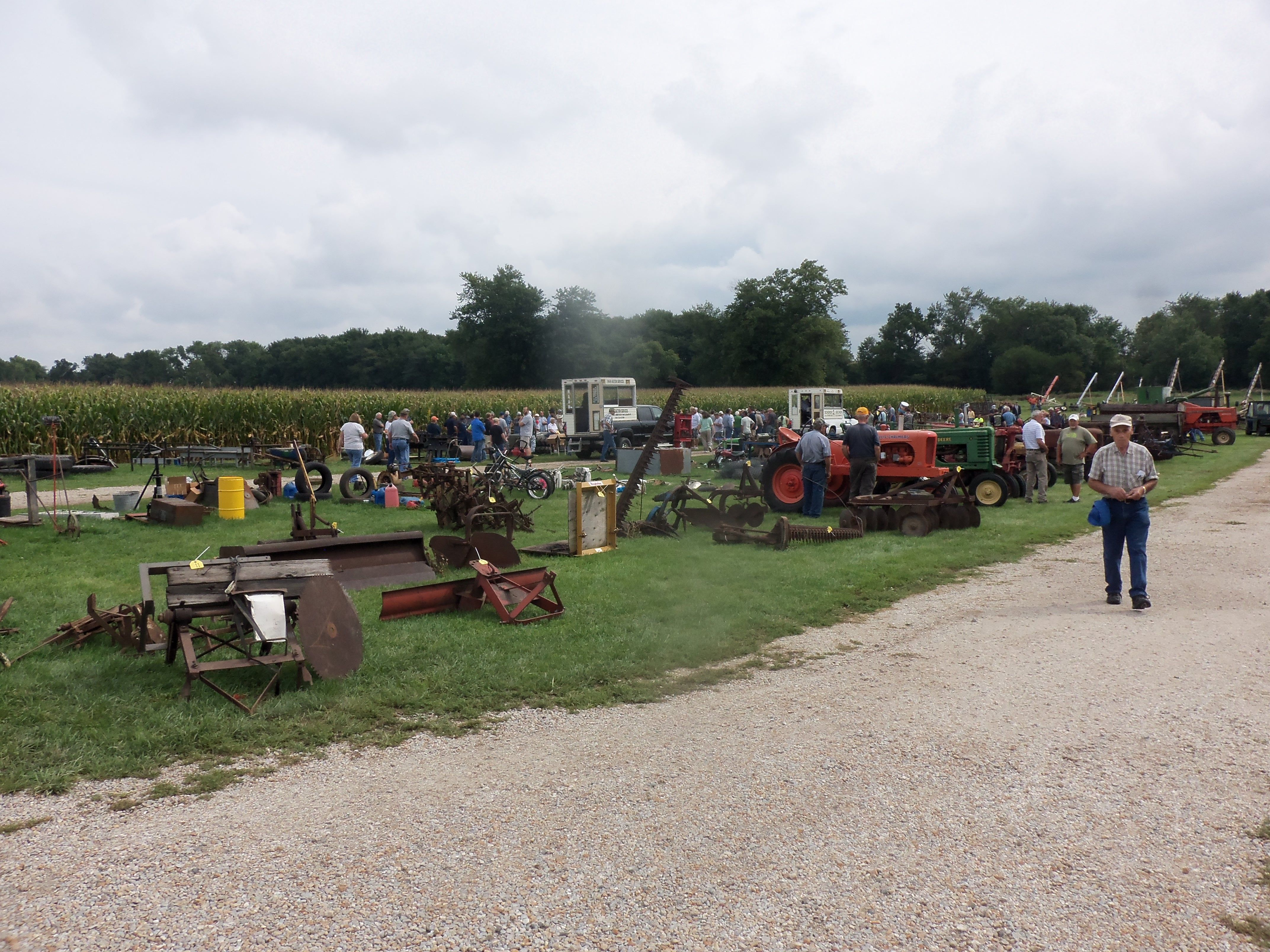 Another lineup of farm equipment for auction