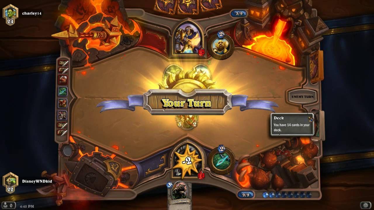 Hearthstone gameplay the losing streak has begun the