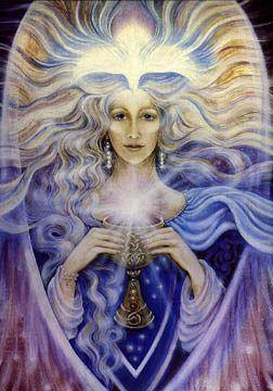 Cantinho dos Deuses | Arte deusa, Arte visionária, Arte espiritual
