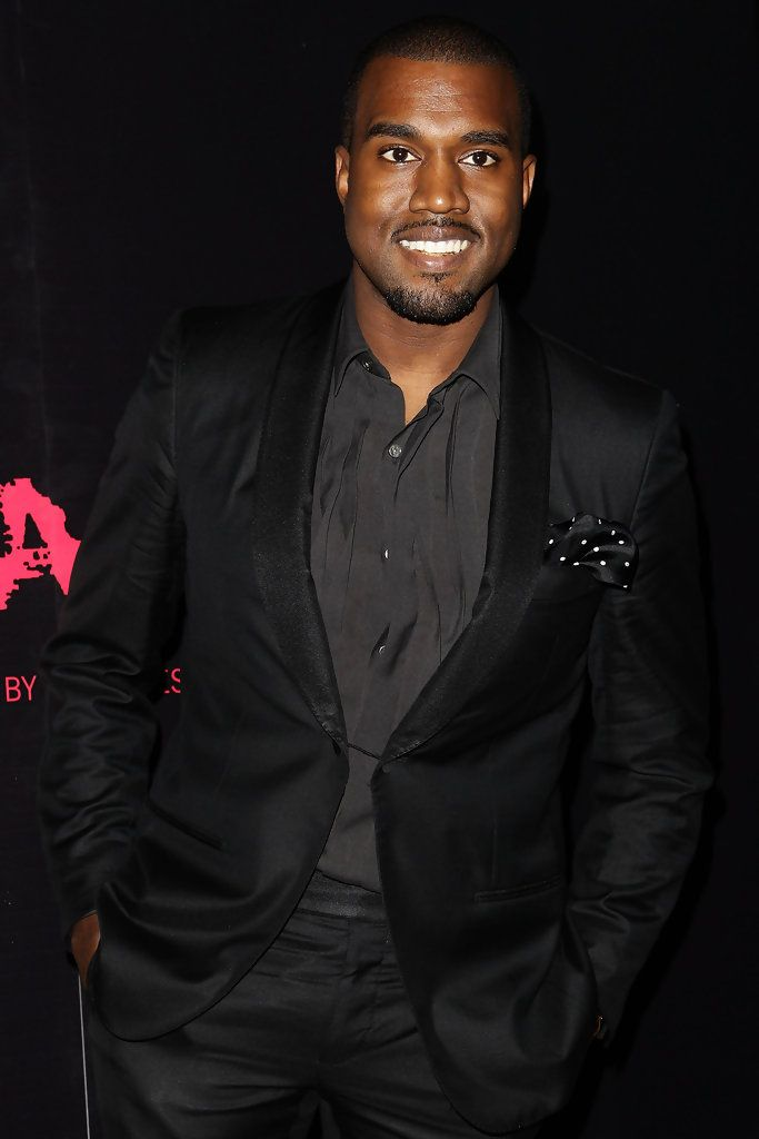 Kanye Sported All Black At The Runaway Premiere In Sydney His Tailored Blazer Kanye West Style Mens Fashion Swag Tailored Blazer