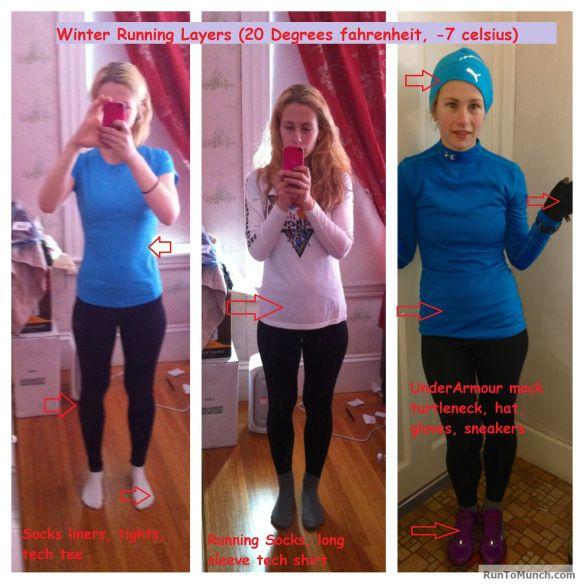 what to wear for winter marathon