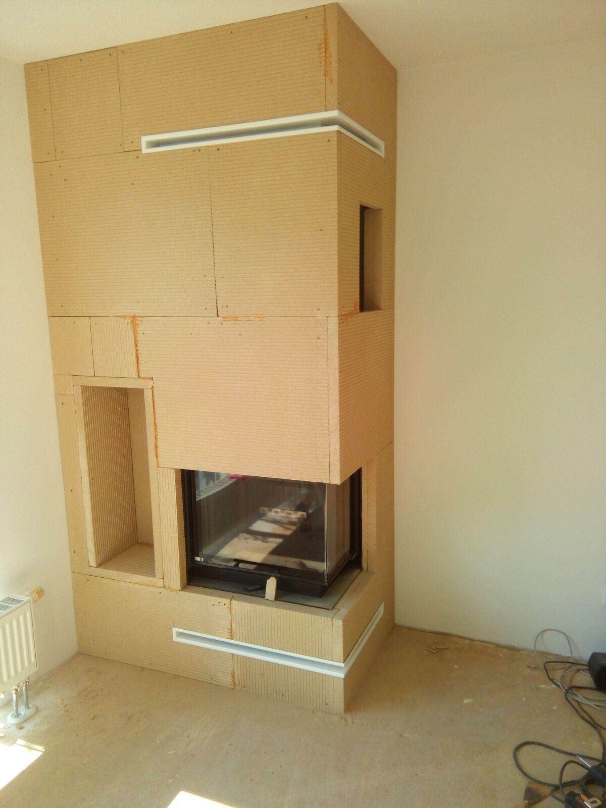 kaminverkleidung modern dreiseitiger panorama kamin zp53 kratki nbc 10 mit montage. Black Bedroom Furniture Sets. Home Design Ideas