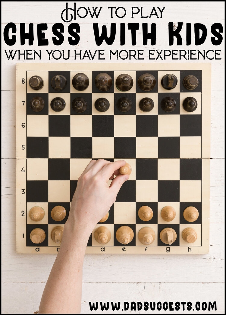 How to Play Chess with Kids When You are More Experienced