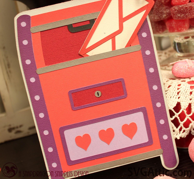 mail drop box valentine card from jgw love letters set
