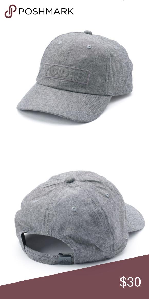 b9460658e226e NWT Grey Adidas Hat Brand new