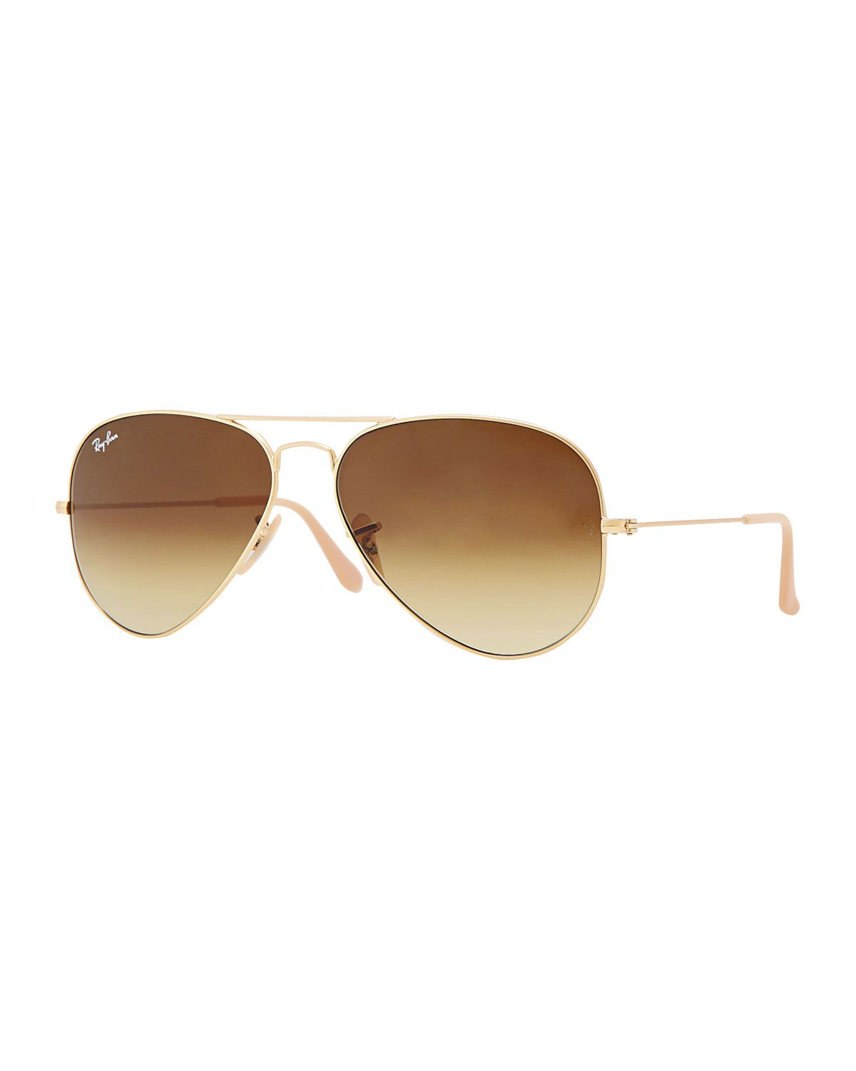 Gradient Aviator Sunglasses, Golden/Blue, Size: 62MM, Gold/Blue - Ray-Ban | *Clothing Accessories \u0026gt; Sunglasses* | Pinterest | Ray ban sunglasses outlet, ...