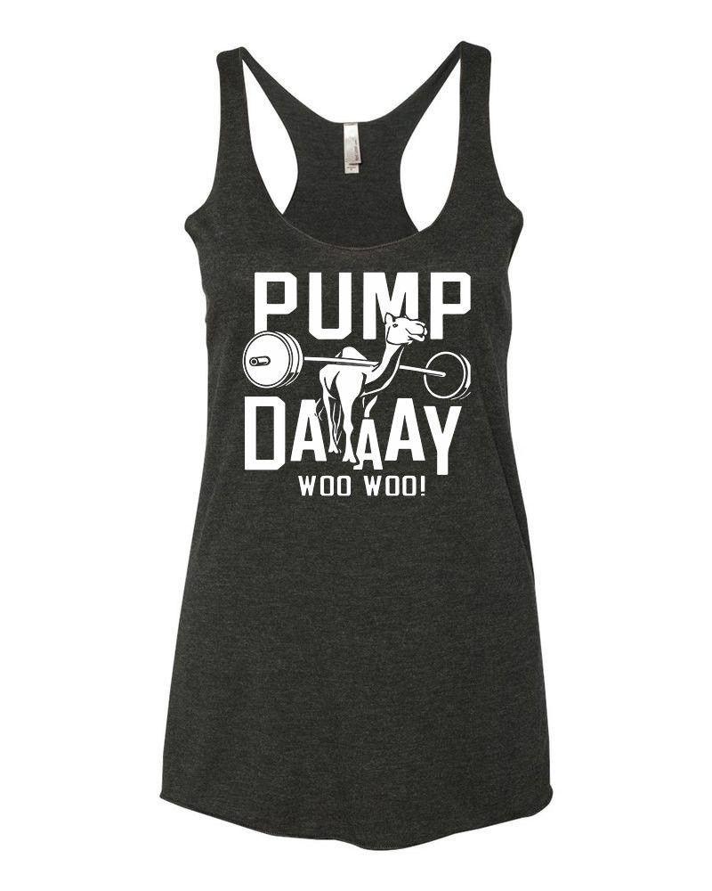 4588ae87 Pump Day Camel Lifting Tri-Blend Racerback Tank Top - yoga top, racerback  tank, funny workout tank, gym tank, fitness tank, boho clothing