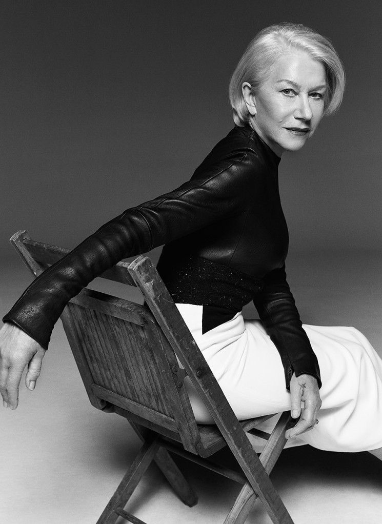 LOVE! This angle/ pose.   Miller Mobley_Helen Mirren