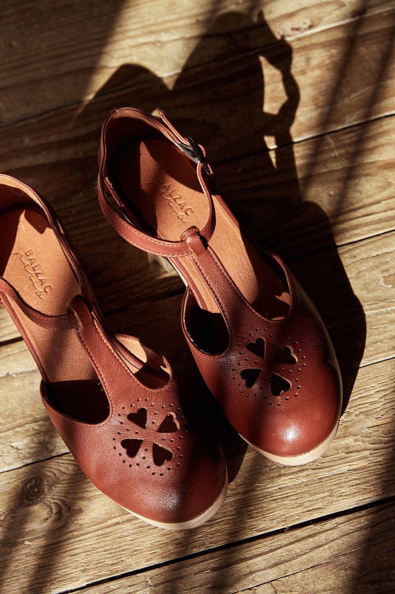 Balzac Chaussure ParisChaussures Myrtille Sabots Terracotta 9DHE2IWY