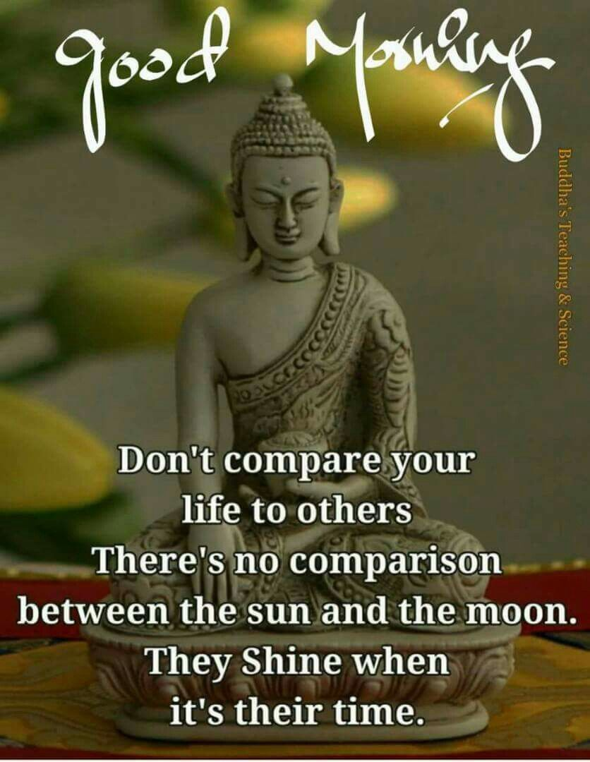 Good Morning image by Dinesh Kumar Pandey Buddha quotes