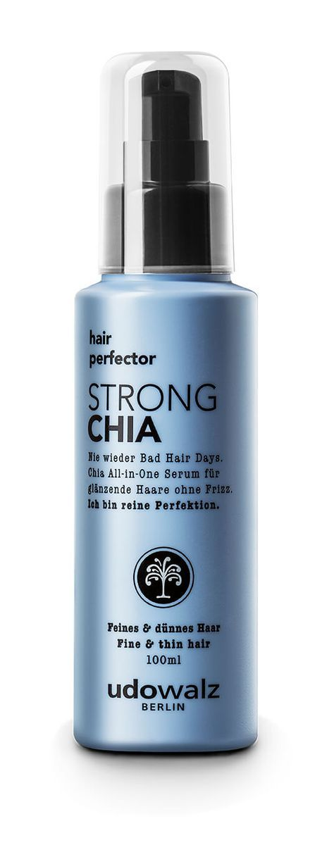 Rossmann News: Nie wieder Bad Hair Days – mit dem STRONG Chia hair perfector Serum #naturalhaircareproducts