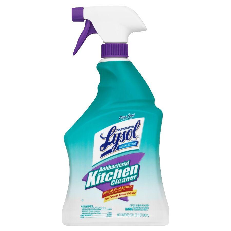 Lysol 32 Oz Citrus All Purpose Cleaner Lowes Com In 2020 Kitchen Cleaner All Purpose Cleaners Antibacterial Cleaner