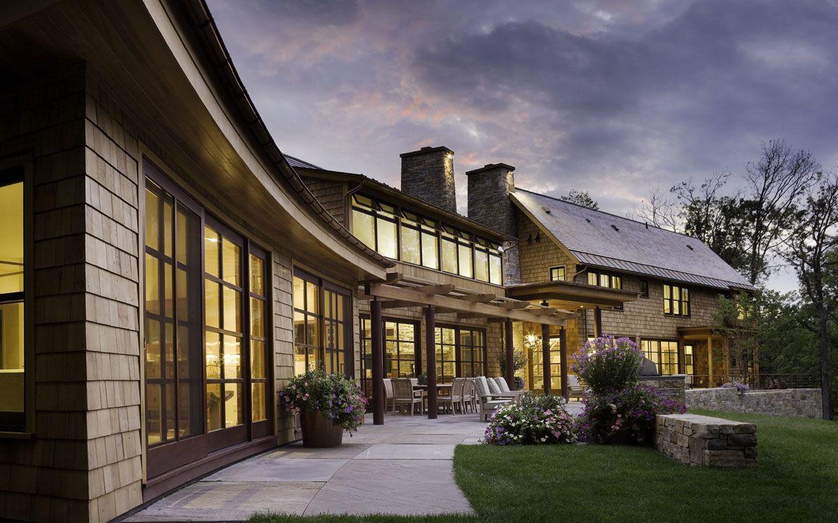 Modern Design Shelburne Vt: Imagine How Pretty: Cedar Shake Shingles, Black Framed