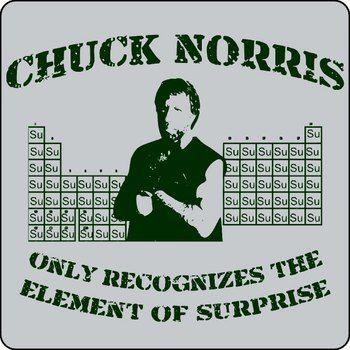 Chuck Norris Surprise T-Shirt Ad \ Em Pinterest Chuck norris - fresh tabla periodica de los elementos quimicos doc
