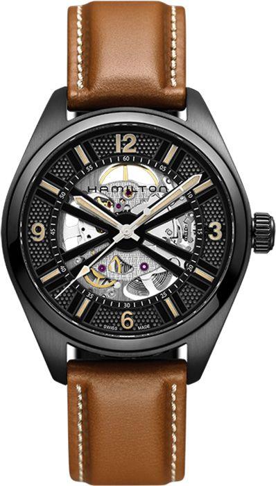 9ea4557ea H72585535, , Hamilton skeleton auto watch, mens | Hamilton Watches ...