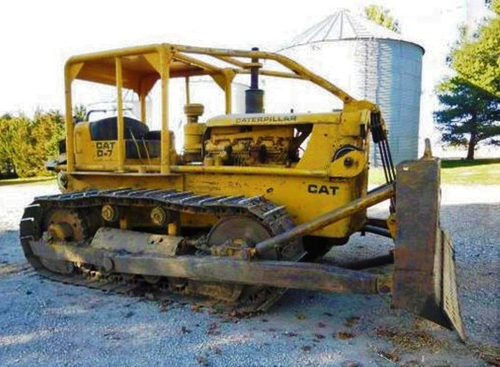 CATERPILLAR  D7, Cable-Blade, Dozer  | Yellow Iron