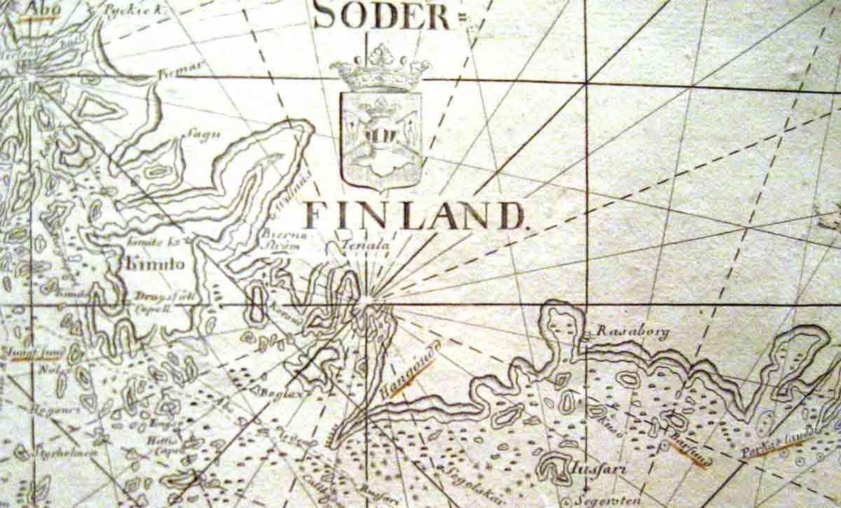 Suomen merikartat ja vesistöjen kartoitus 1583-1950