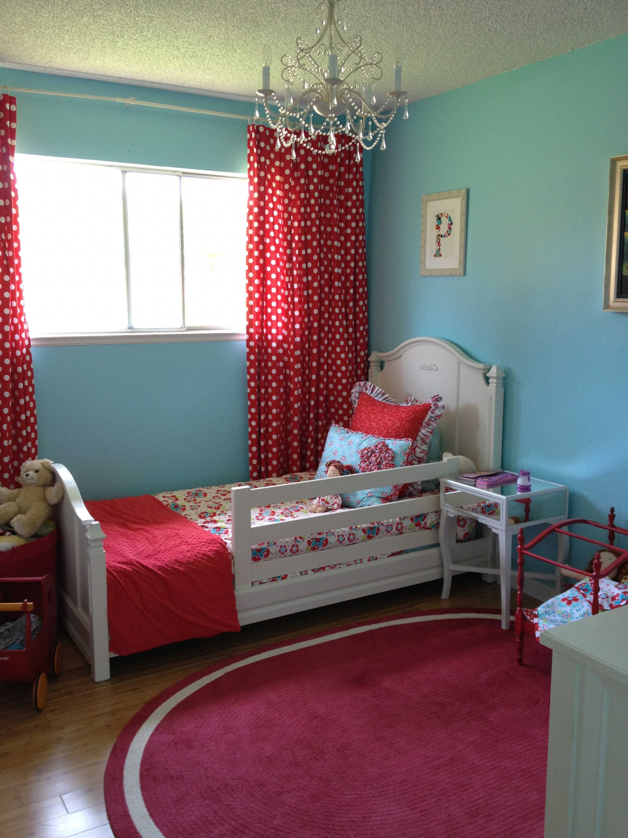 Penelope S Bedroom 1 Blue Girls Rooms Red Rooms Girl Room