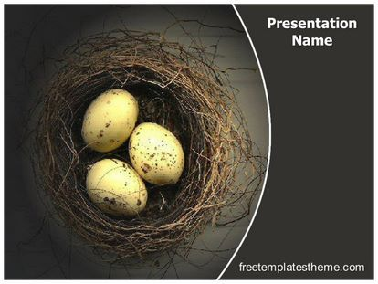 get this #free #nest #eggs #powerpoint #template with different, Presentation templates
