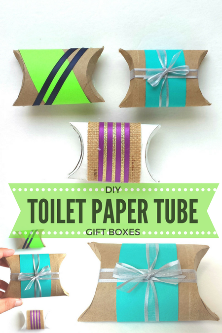 Toilet Paper Roll Boxes Diy Gift Boxes Made Out Of Toilet Paper Tubes Toilet Paper Tube Diy Gift Box Christmas Toilet Paper