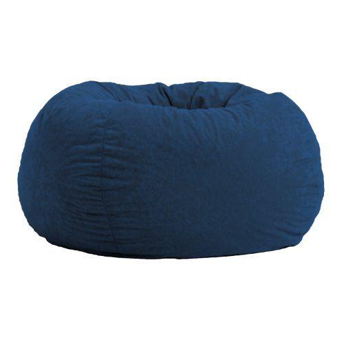 Comfort Research Classic Bean Bag In Comfort Suede, Blue ... Https:/