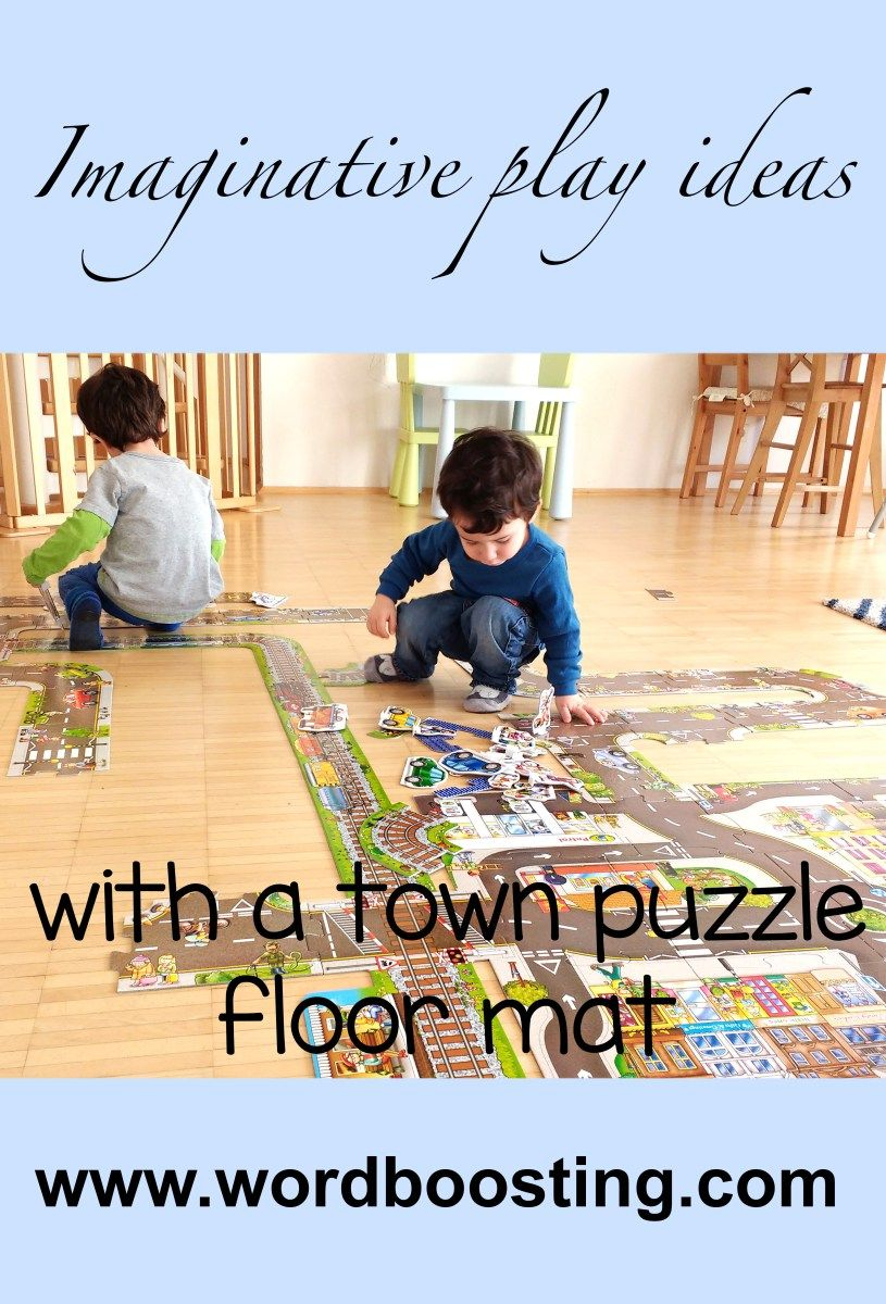 Imaginative Play Ideas To Use With A Small World Town Such As Floor Mat Or Puzzle Storytelling Prompts For Supporting Language Development