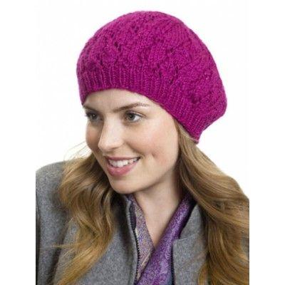 Free Intermediate Womens Hat Knit Pattern Free Knit Hat Patterns