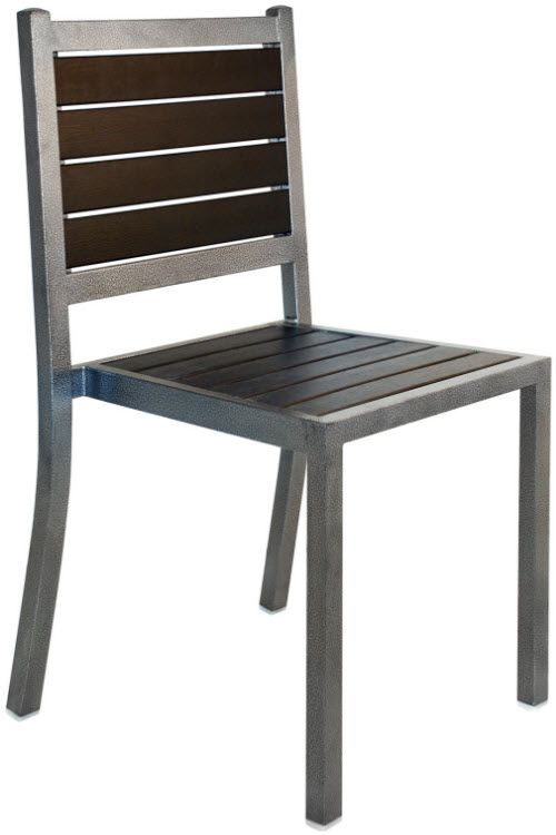 Plastic Teak And Metal Patio Chair Metal Patio Chairs Metal